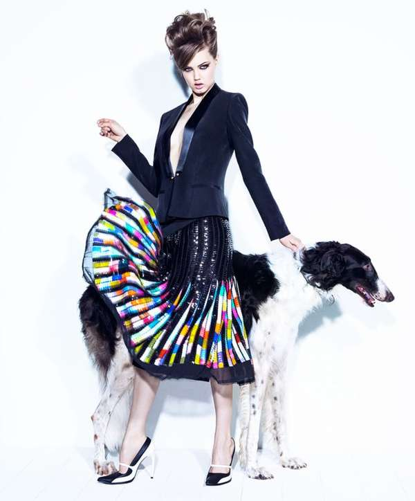Dog-Loving Fashion Editorials