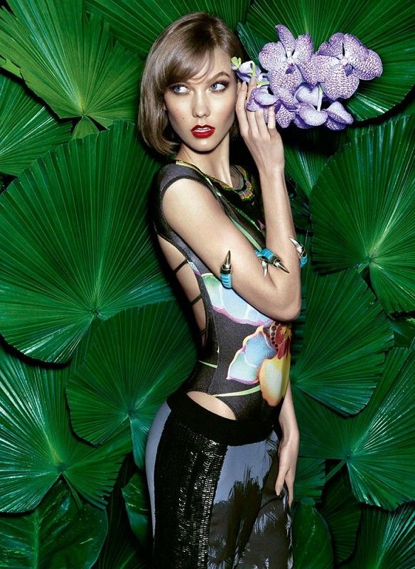 Edgy Tropics-Inspired Editorials