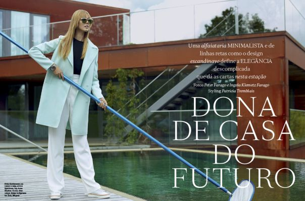 Futuristic Homebody Editorials