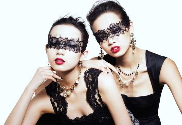 Lace-Masked Shoots