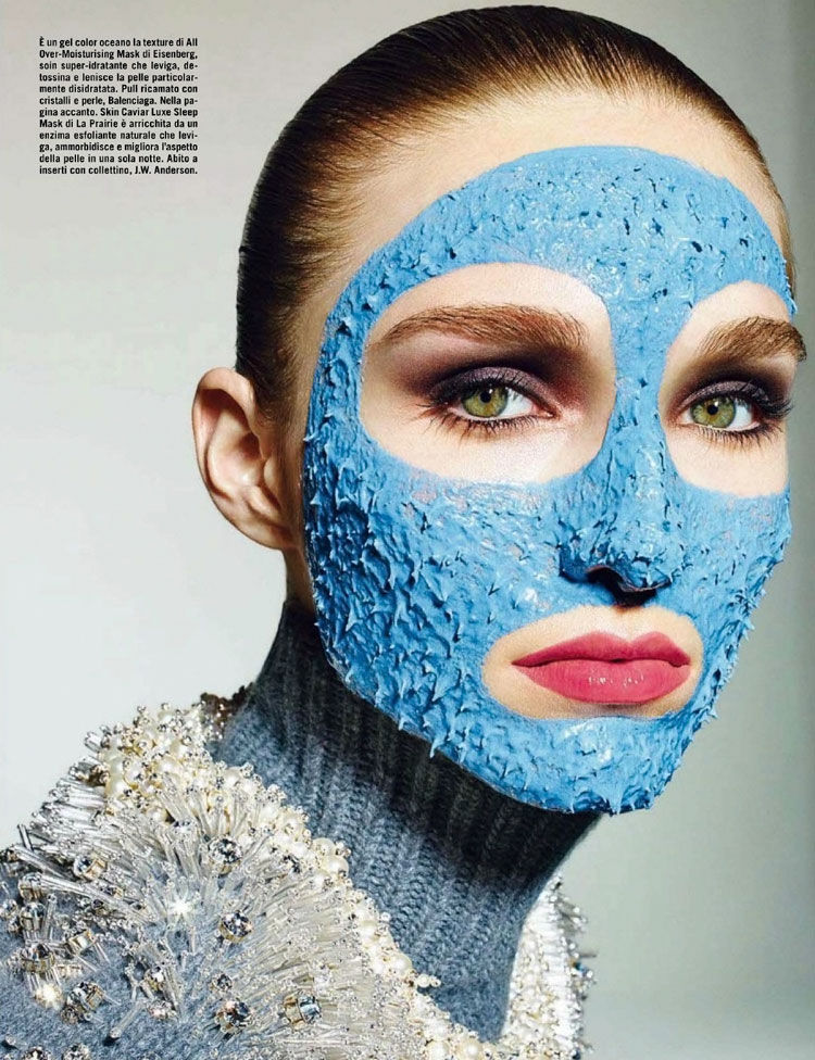 Conceptual Skincare Captures