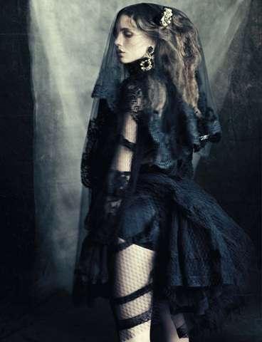 Gothic Opulence Editorials
