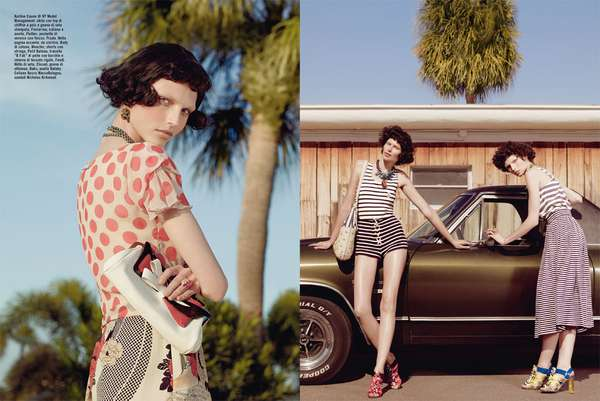 Boyish Retro Editorials