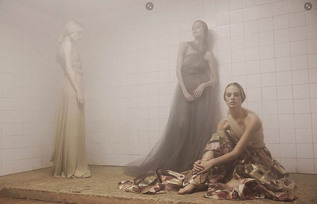 Hazy Haute Couture Editorials