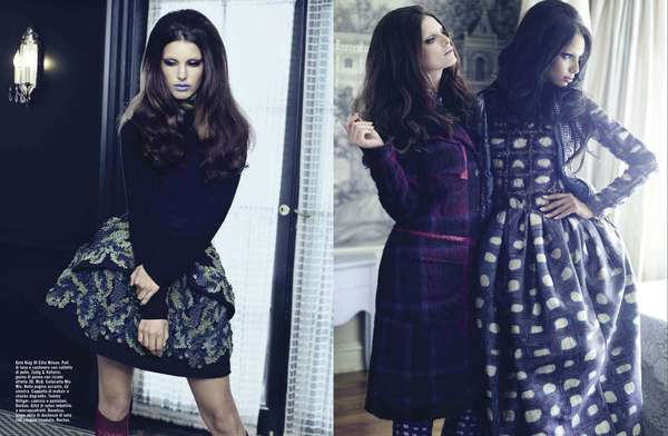 Mixed Pattern Autumn Editorials