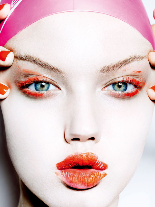 Magnetic Makeup Editorials