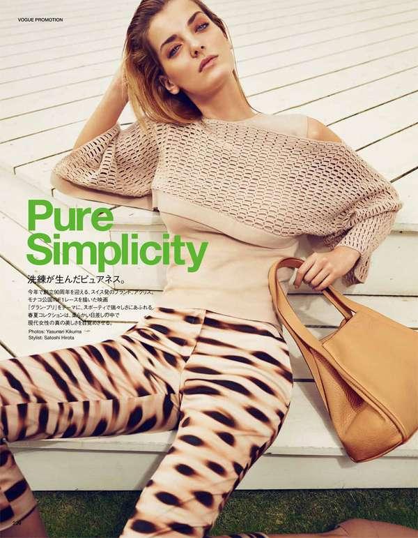 Enlivening Fashion Editorials