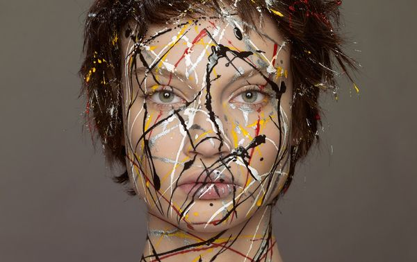 Modern Art-Inspired Editorials