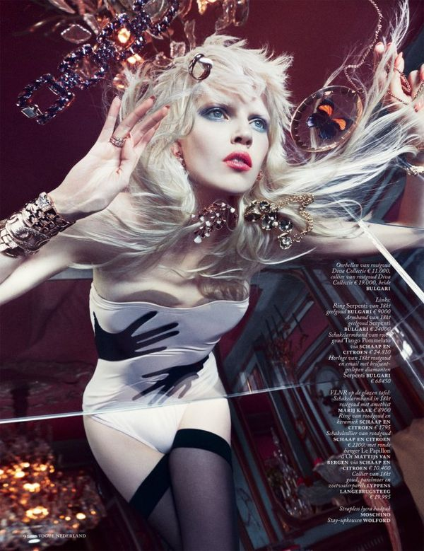 Extravagant Gem Stone Editorials