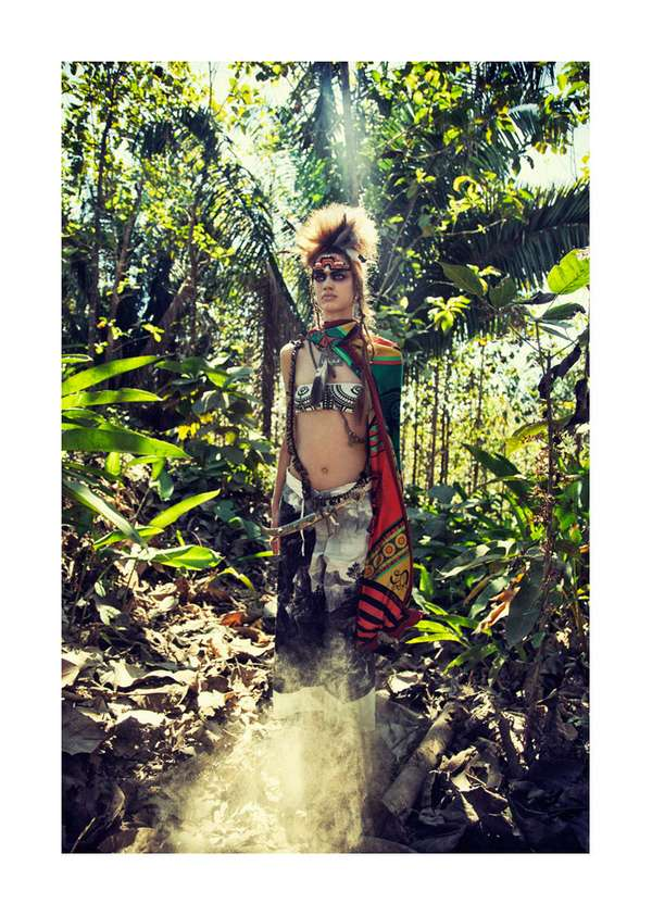 Wild Warrior Editorials