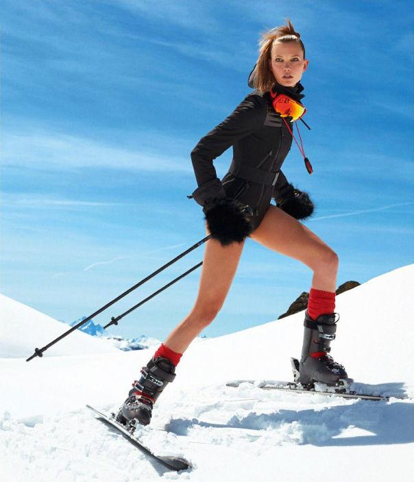 Adventurous Ski Editorials