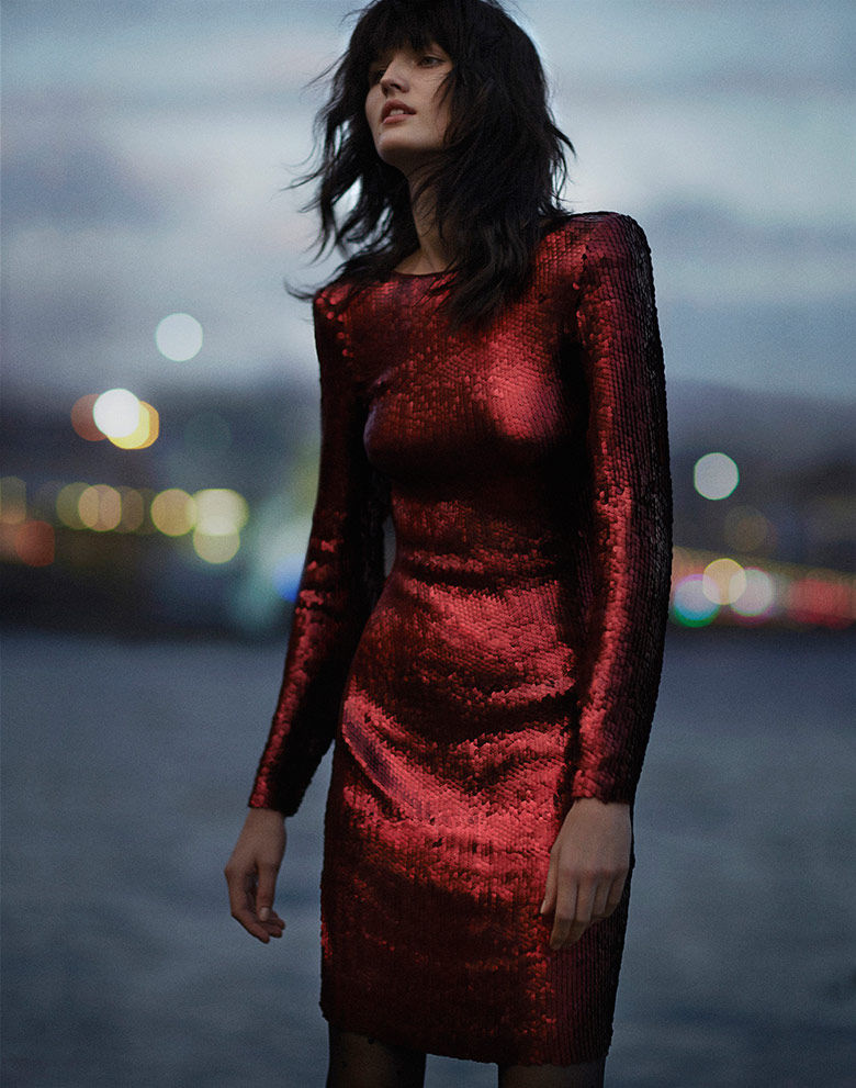 Sleek Sequin Editorials