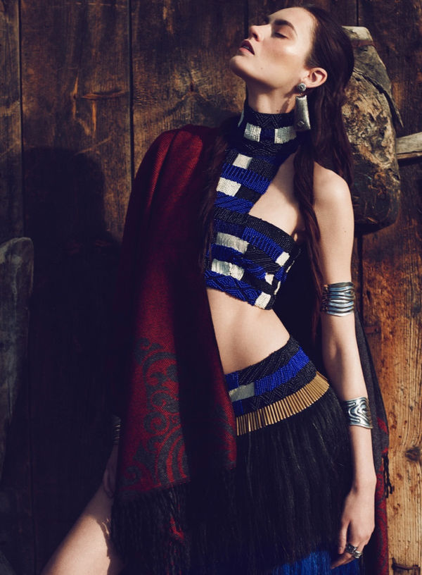 Fringed Tribal Editorials
