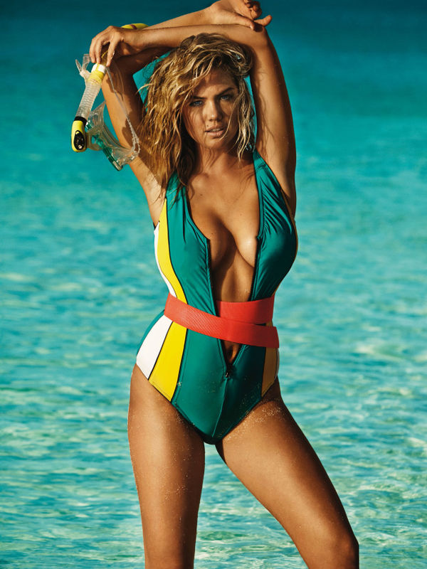 Bombshell Swimsuit Editorials