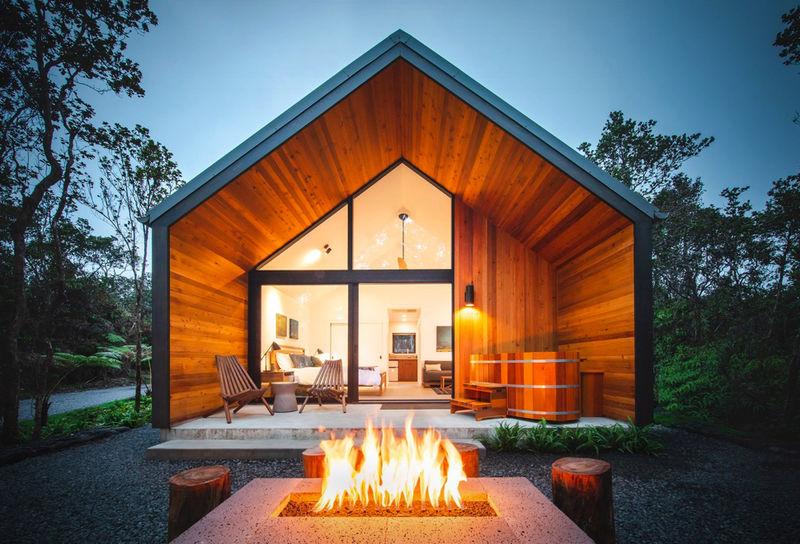 Volcano-Adjacent Rental Cabins