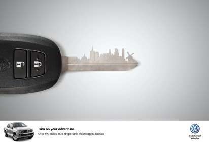 Car Key Landscape Ads