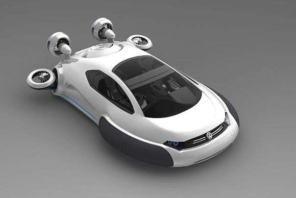Floating Concept Cars