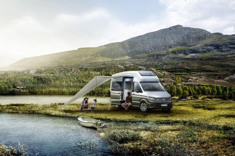 Conceptually Chic Camper Vans