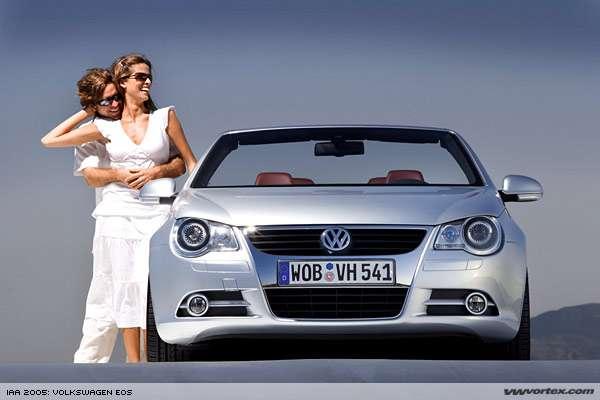Volkswagen Eos with Retractable Glass Roof
