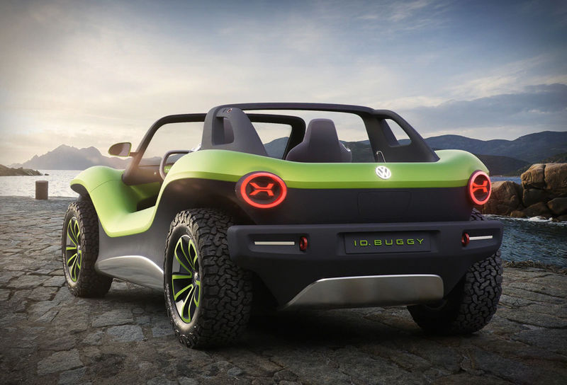 Futuristic All-Electric Dune Buggies