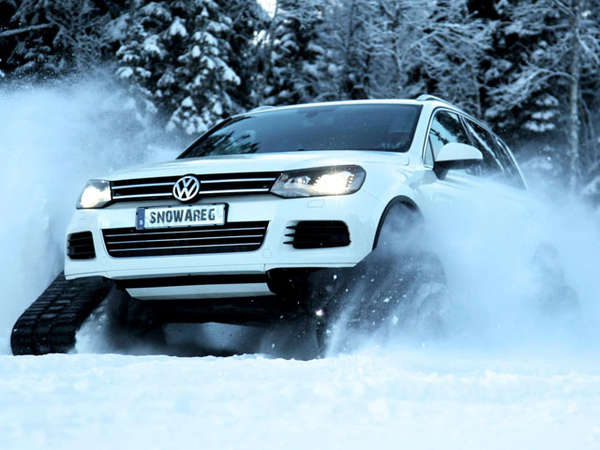 Snow-Fighting Car Mods