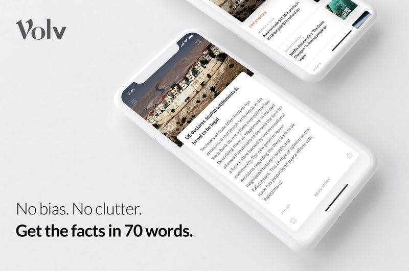 Clutter-Free News Apps
