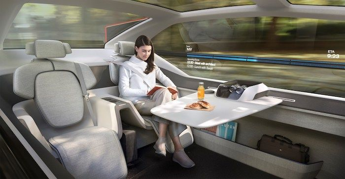 Lifestyle-Focused Self-Driving Vehicles