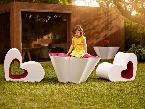 Feminine Kids Furniture