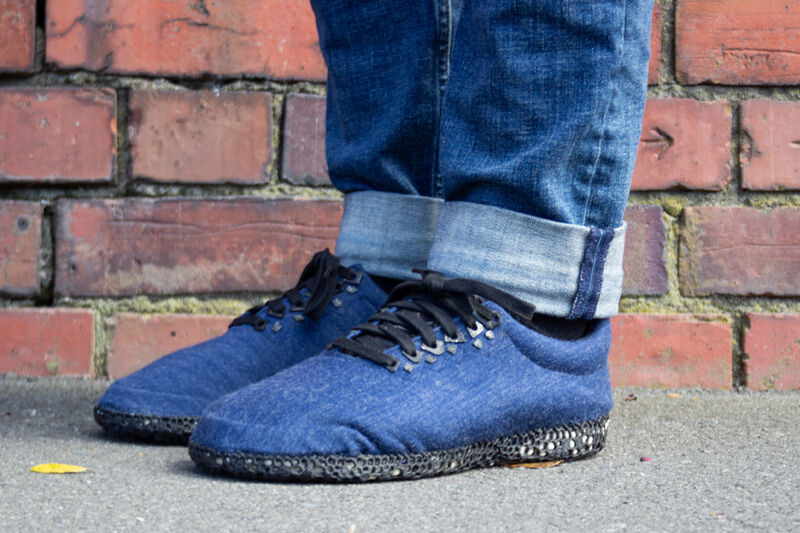 Compostable Adhesive-Free Sneakers
