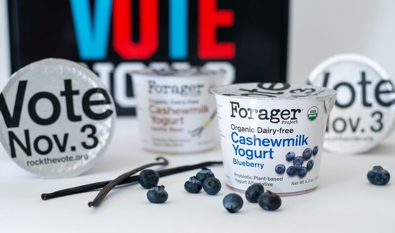 Voter-Encouraging Yogurt Packaging
