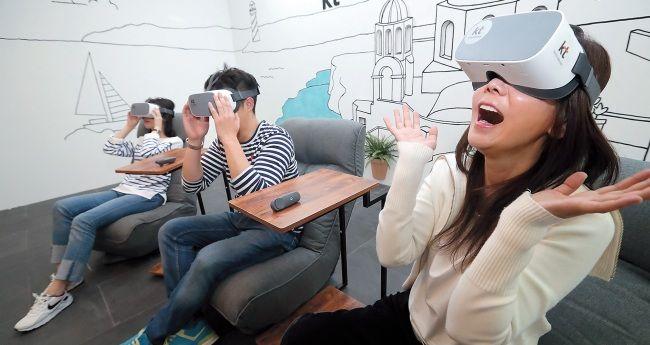 Interactive VR Cinemas
