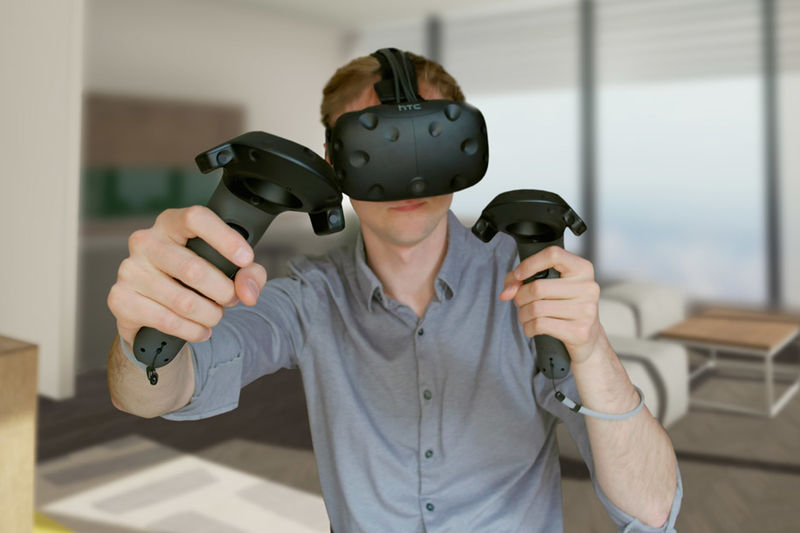 Handheld VR Controllers