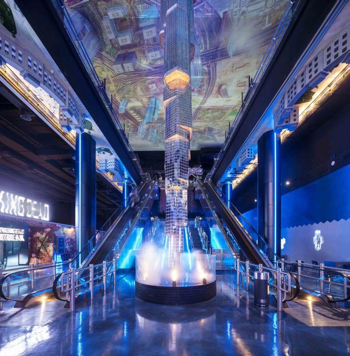 Futuristic VR Centers
