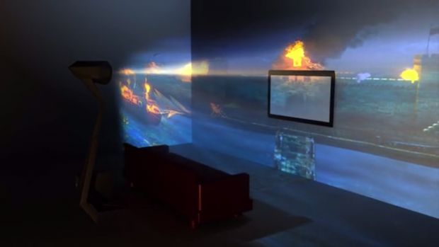 Immersive VR Projectors
