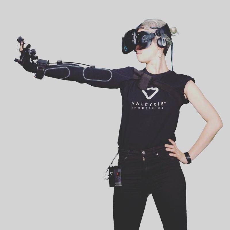 Haptic Virtual Reality Wearable Tech