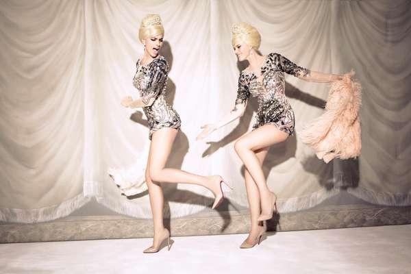 Fashionable Flapper Photoshoots
