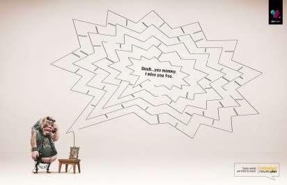 Conversational Maze Ads