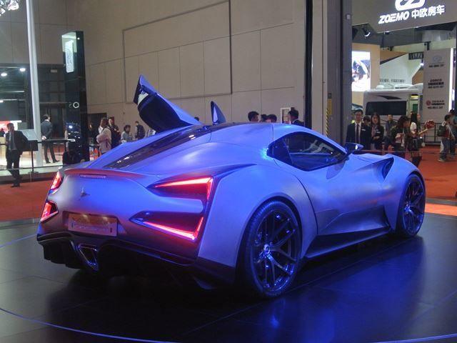 Pricey Titanium Supercars