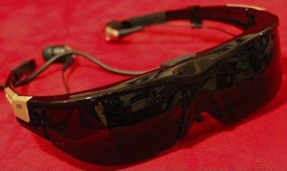 Futuristic Video Eyewear