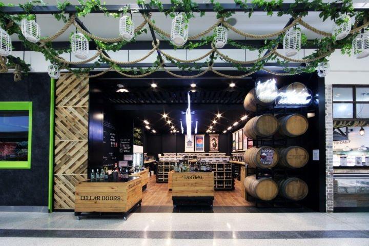 Authentic Galleria Wine Shops