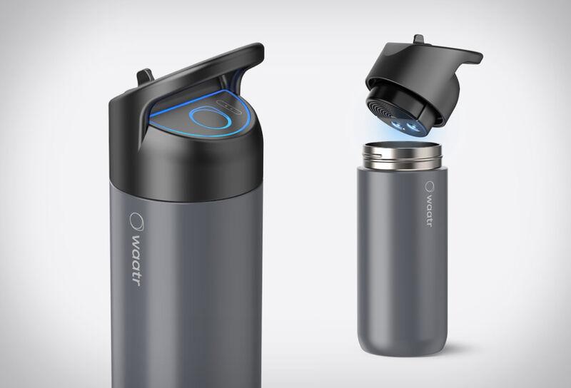 Advanced Water-Sanitizing Bottles