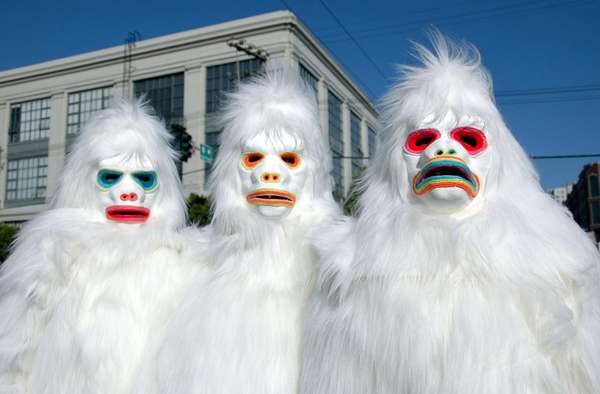 Painted Yetis