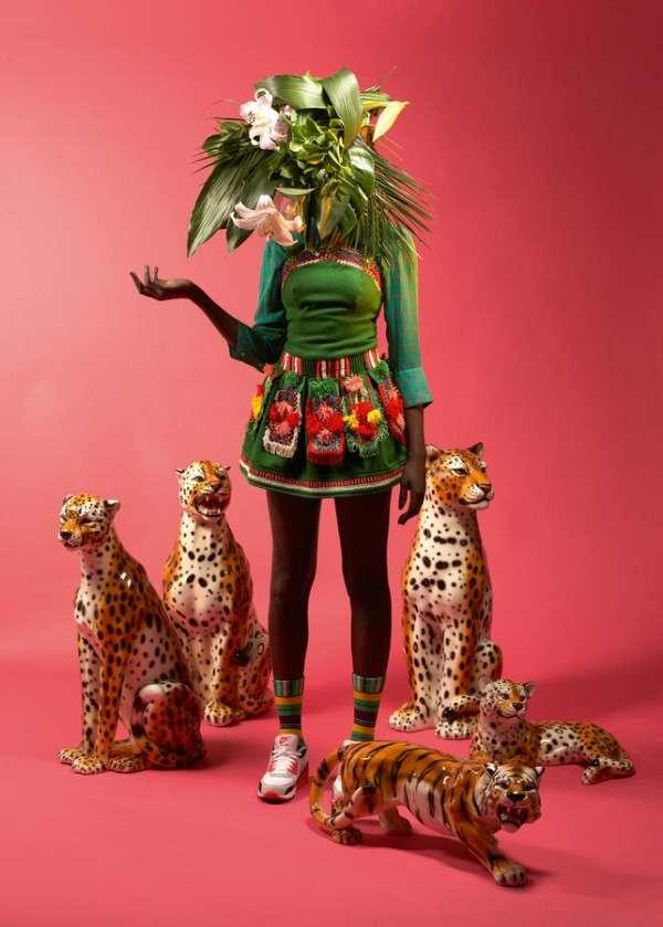 Tribal-Influenced Western Fashion