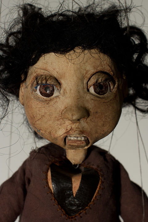 Frightening Marionette Dolls