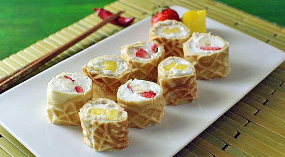 Fusion Dessert Sushi Rolls