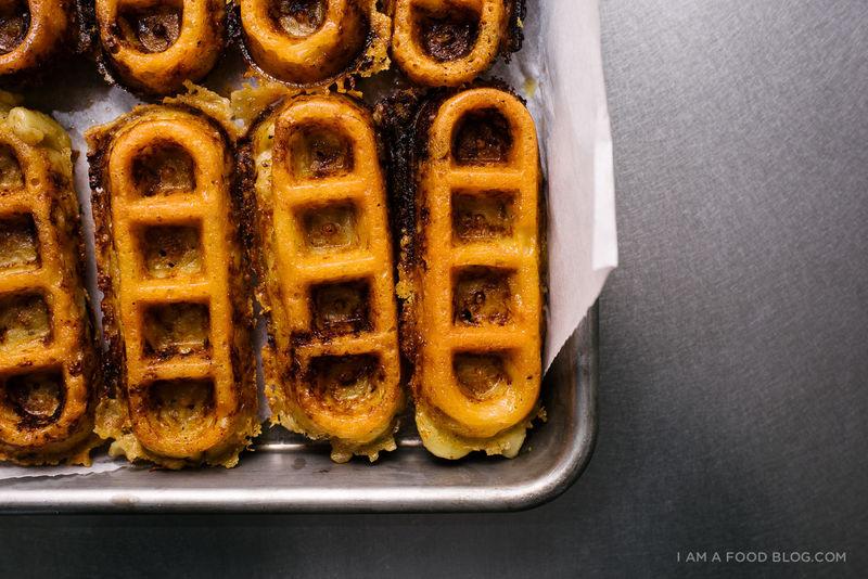 Comfort Food Waffle Breakfasts