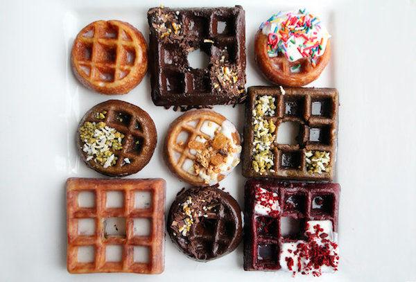 Waffle Donut Desserts