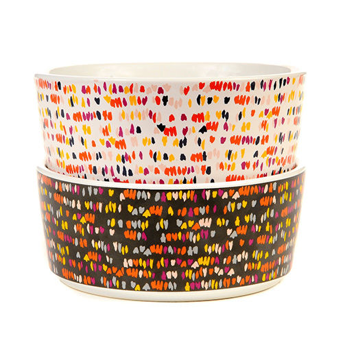 Vibrant Colorful Canine Bowls
