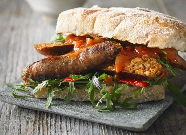 Vegetable-Fortified Sausages