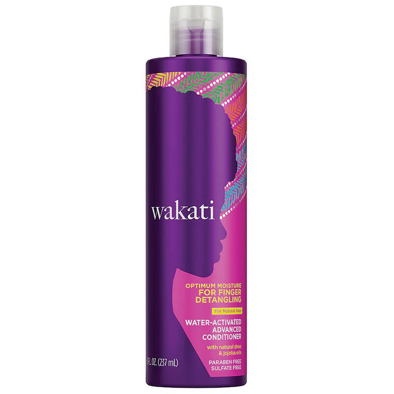 Water-Activated Curly Conditioners